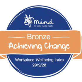 Mind Workplace Wellbeing Bronze Award