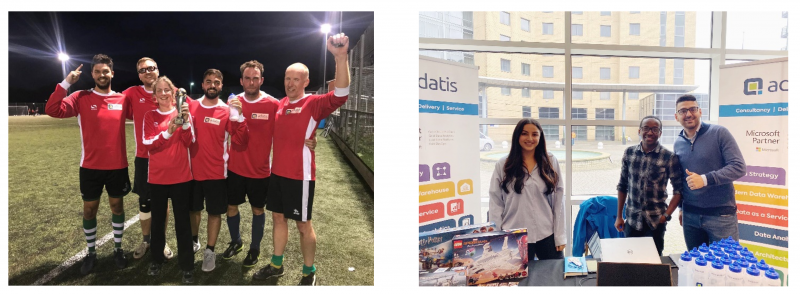 Adatis World Cup and Adatis at Data Relay 2019