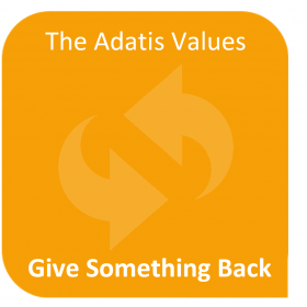 Adatis Values- give something back