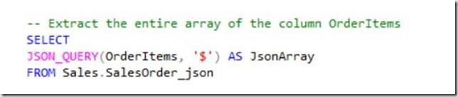 JSON query
