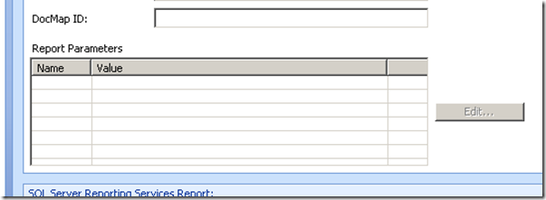 Report Parameters section.