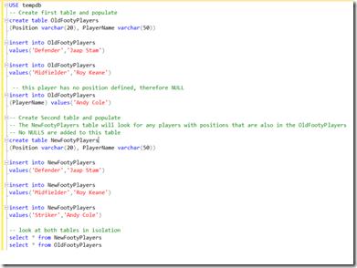 NOT IN SQL 1