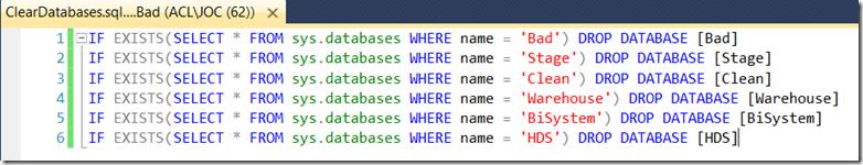 Create a SQL Script