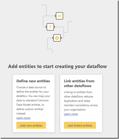 Power bi data flow